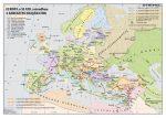 Európa a XI-XIII. században. A keresztes hadjáratok.  160*120 cm - laminált, faléces