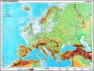 Europa Domborzati Vakterkep Duo 160 120 Cm Laminalt Faleces