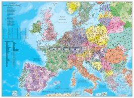 Európa irányítószámos 65*45 cm - asztali könyöklő