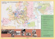 Európa a két világháború között DUO,  160*120 cm - laminált, faléces