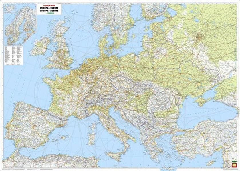 Terkep Europa Autos Terkep