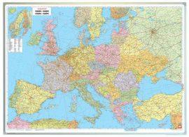 Európa országai falitérkép 171*122 cm