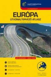 Európa útvonaltervező atlasz 2016