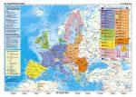 Az Európai Unió (német nyelvű)-160*120 cm-laminált,faléces