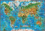 Földünk állatvilága + Dinók és őslények birodalma gyerektérkép