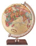 Földgömb Forester antik, 23 cm átmérőjű