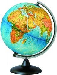 Földgömb - világító, duó 25 cm átmérőjű, műanyagtalpas