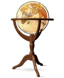 Földgömb -  világító, álló, antik politikai 50 cm - Janine