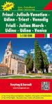 Friuli - Venezia Giulia - Udine - Trieszt - Velence térkép