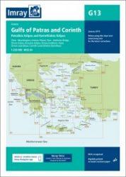 G13 Gulfs of Patras and Corinth- Patraïkós Kólpos and Korinthiakós Kólpos hajózási kiadvány