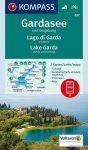 Garda-tó és környéke KOMPASS 697 - turistatérkép