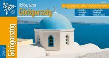 Görögország - hajtogatott autótérkép - 2008