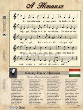 A Himnusz asztali alátét A3