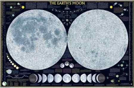 hold térkép Hold falitérkép   A Lurdy Ház Térképbolt,Tel:456 05 61,Stiefel  hold térkép