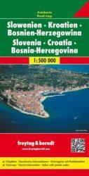 Horvátország, Szlovénia, Bosznia-Hercegovina - 2018