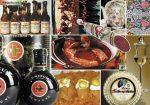 Hungarikumok tányéralátét könyöklő + hátoldalon Magyarország borászati térképe