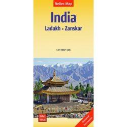 India - Ladakh, Zanskar térkép - vízálló, téphetetlen