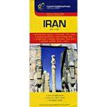 Irán térkép