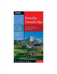 Kamnisko-Savinjske Alpe - Steiner Alpen - Kamniki-Alpok turista térkép
