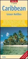 Karib-szigetek, Kis-Antillák térkép