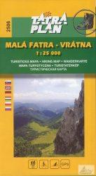 Kis Fátra - Vrátna túristatérkép 2506