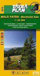Malá Fatra, Martinské hole - Kis-Fátra turista térkép - TM 5019
