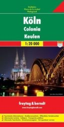 Köln térképe