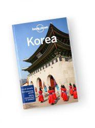 Korea travel guide Lonely Planet útikönyv