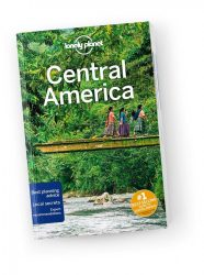 Central America travel guide - Közép-Amerika Lonely Planet útikönyv