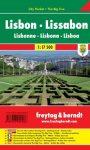 Lisszabon City Pocket - város térkép