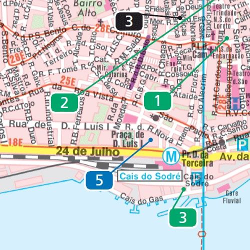 lisszabon térkép látnivalókkal Lisszabon Látnivalók Térkép | groomania