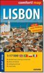 Lisszabon - comfort- zsebtérkép