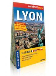 Lyon - comfort- zsebtérkép