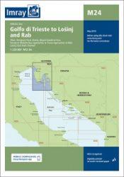 M24 Golfo di Trieste to Lošinj and Rab hajózási kiadvány