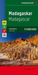 Madagaszkár  - autóstérkép