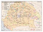 Magyarország az Anjouk és Zsigmond korában 140*100 cm - laminált, faléces