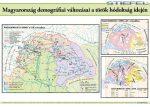 Magyarország demográfiai változásai a török hódoltság idején 100*70 cm - laminált, faléces