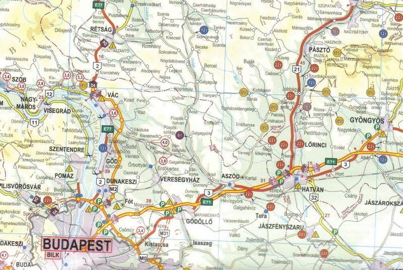 súlykorlátozás magyarország térkép Magyarország kamionos térképe 100*70 cm   fóliás, fémléces   A  súlykorlátozás magyarország térkép