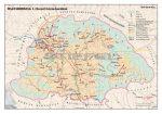 Magyarország Szent István korában 140*100 cm - laminált, faléces