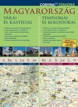 Magyarország várai és kastélyai / Magyarország templomai és kolostorai - duótérkép