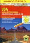 USA, Alaszka, Kanada-dél  -  autósatlasz