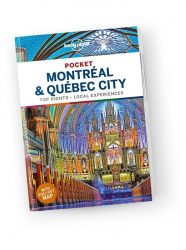 Pocket Guide Montreal & Quebec City - Lonely Planet útikönyv
