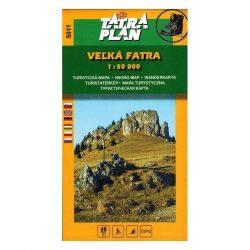 Nagy Fátra - túristatérkép TM 5011