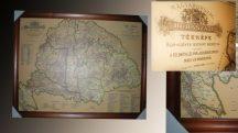 Nagy-Magyarország Borászati térkép 100*70 cm