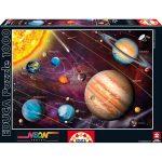 Naprendszer foszforeszkáló 1000 db-os puzzle