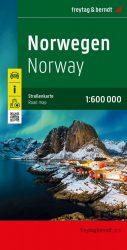 Norvégia térkép