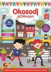 Okosodj játékosan 7-8 éveseknek - Készségfejlesztő könyv