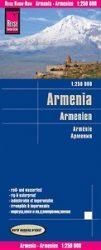 Örményország - Armenien térkép
