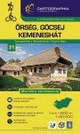 Őrség, Göcsej 21 - turistatérkép