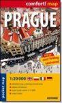 Prága -comfort- laminált zsebtérkép